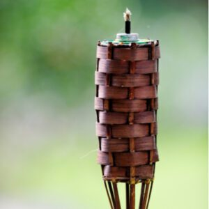 tiki torch for mosquito repellant
